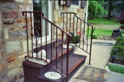 Brown Wrought Iron