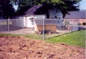 6ft galvanized (industrial strength) dog kennel